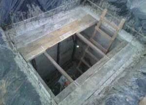 Утепление кессона из бетонных колец