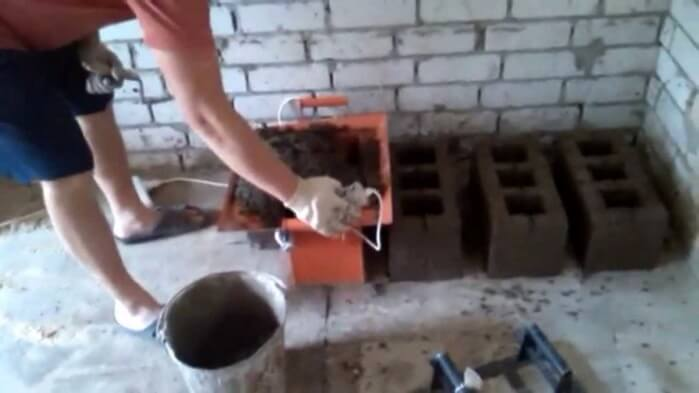 Блоки из опилкобетона своими руками