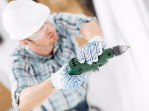 Как сверлить бетонную стену