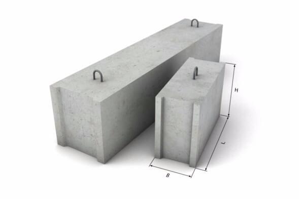 Железобетонные блоки: характеристика, виды и сборка фундамента