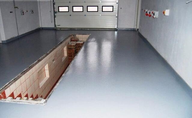 Зачем нужны наливные полы для гараж что лучше плитка или наливной пол в ванной