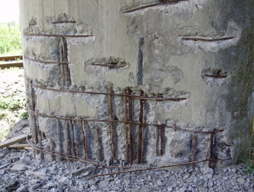 corrosion of reinforced concrete Portland cement concrete is world's most widely used construction material because of its incredible durability however, factors such as material limitations.