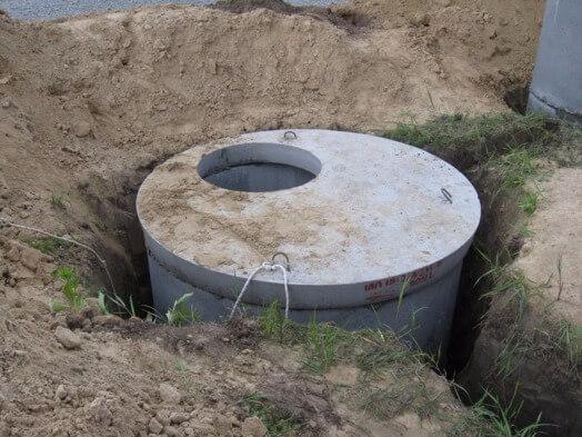 Как сделать выгребную яму из бетонных колец 45