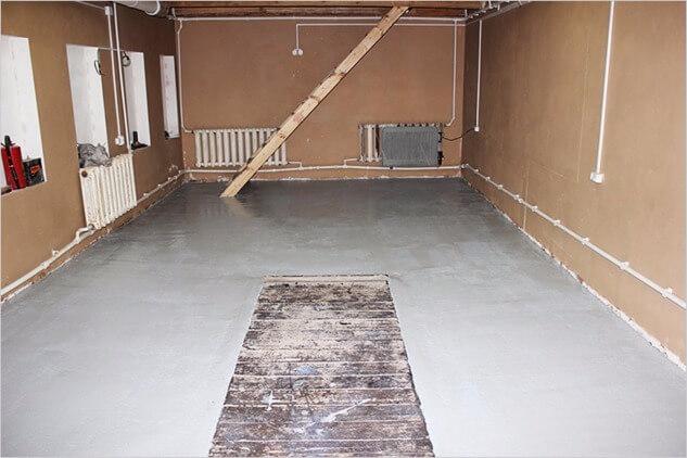 Betonovanie podlahy v garáži