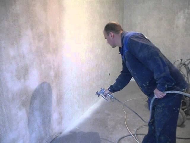 бетон окраска
