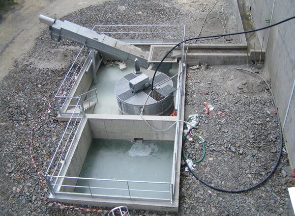 Промывание бетона