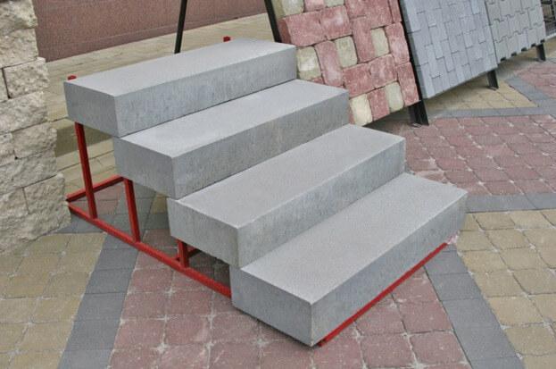 ступеньки из бетона