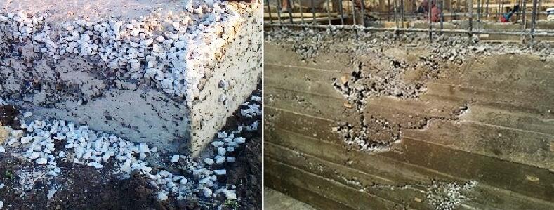 Дефекты бетонной смеси купить бетон статьи
