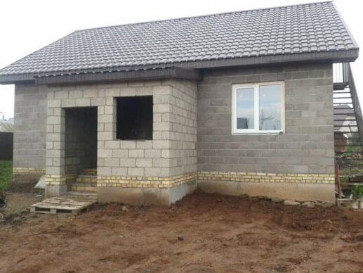 Строительство монолитных домов из керамзитобетона смесь бетонная в25