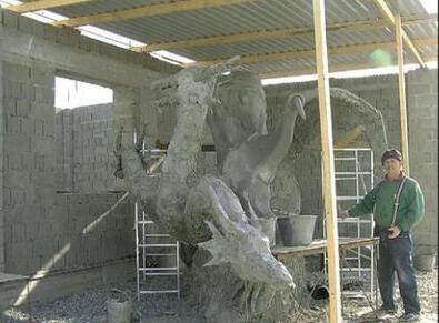цементный раствор для скульптуры