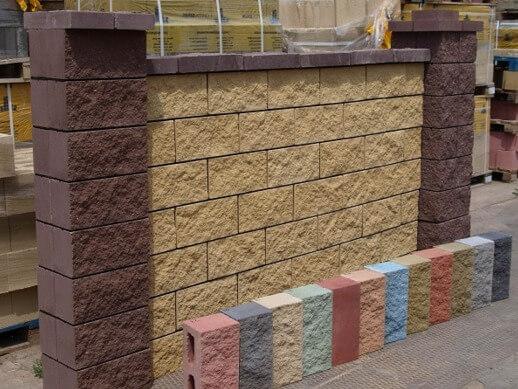 Блоки из керамзитобетона с облицовкой штампованный бетон видео
