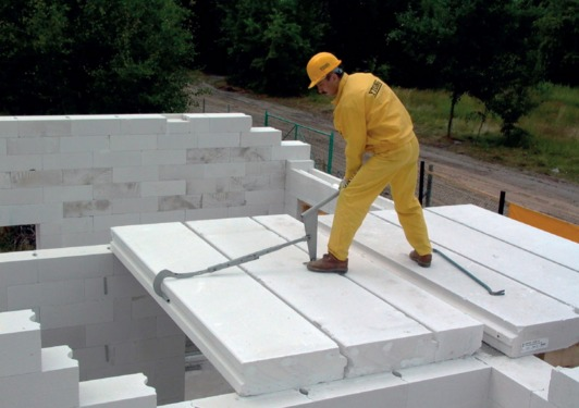 Плиты перекрытий ячеистого бетона вывезти плиту перекрытия