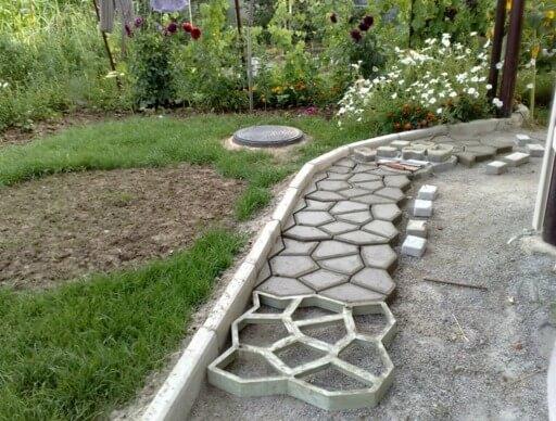 Устройство садовых дорожек своими руками фото 842