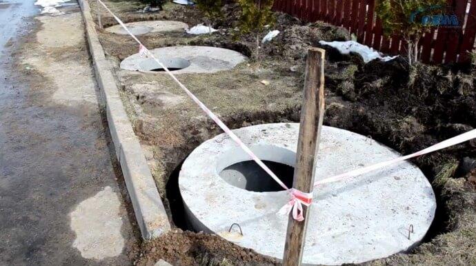 Гидроизоляция септика из бетонных колец способы и обзор материалов