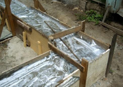 Цементный раствор дождь настояться бетон