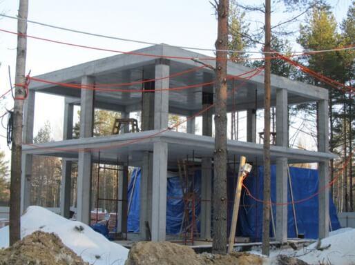 Частный дом строительство своими руками