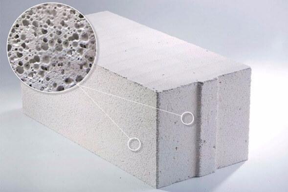 виды ячеистый бетон