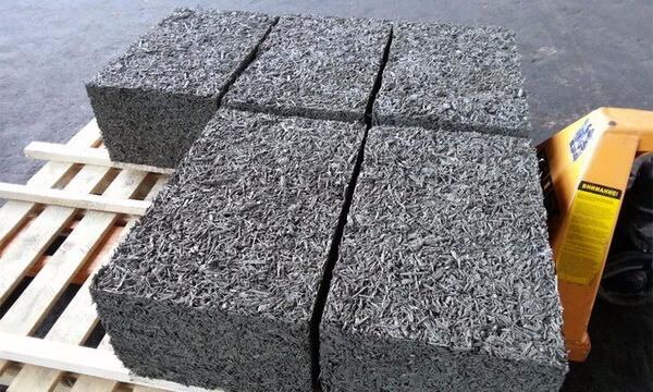 бетон опилом