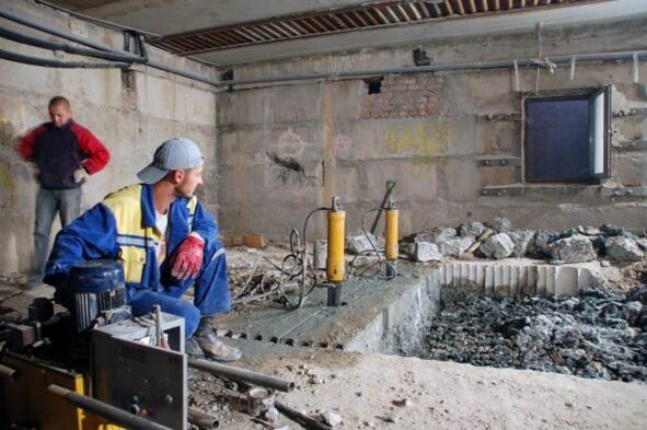 Стоимость демонтаж бетона купить бетон в южно сахалинске с доставкой