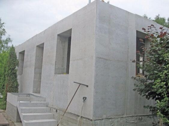 Домики из бетона строительный раствор перевозка