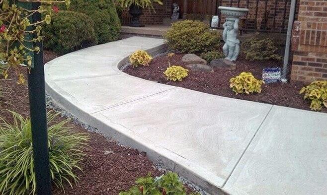 Состав бетонной смеси для дорожки купить форму забора из бетона