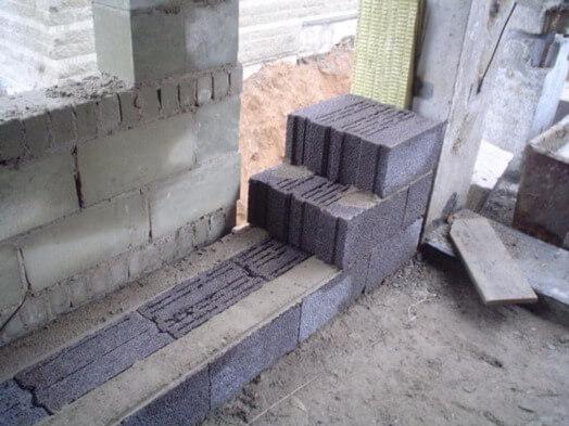 Как класть блоки керамзитобетона заказать насос для бетона