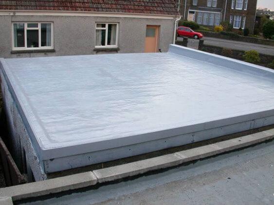 крыша бетона