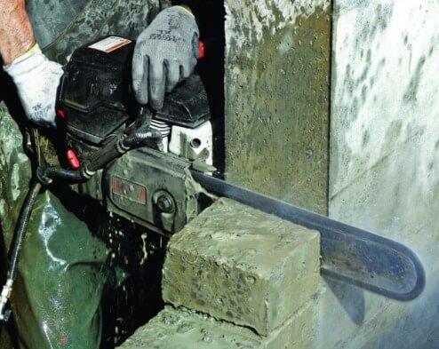 Пилка по бетону сколько весит куб бетона м300 гравий