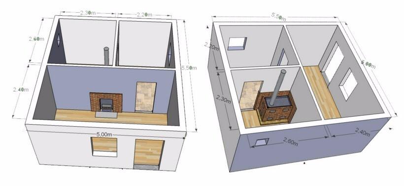 Баня керамзитобетон и пенобетон монолитный дом из бетона купить