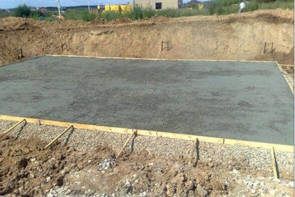 тощий бетон подбетонка