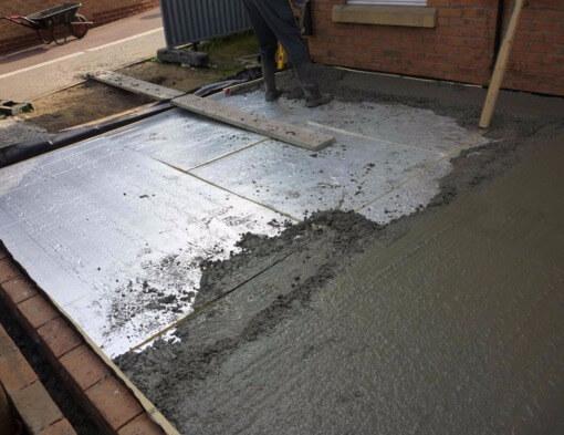 Сделать пол из бетонной смеси пластификаторы для бетона купить в ярославле
