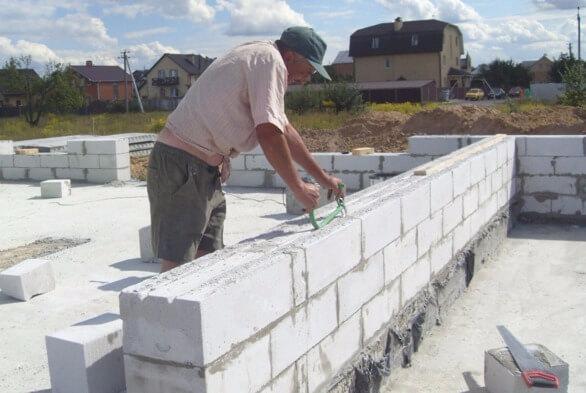 Раствор для кладки из строительных блоков патенты бетона