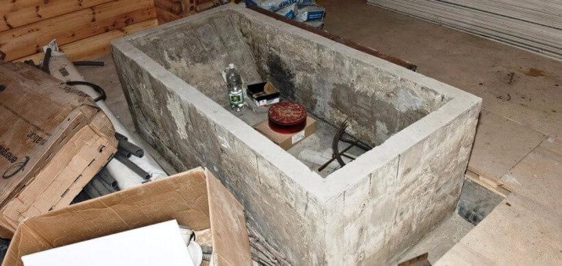 Ванна по бетону состав керамзитобетона марки 150