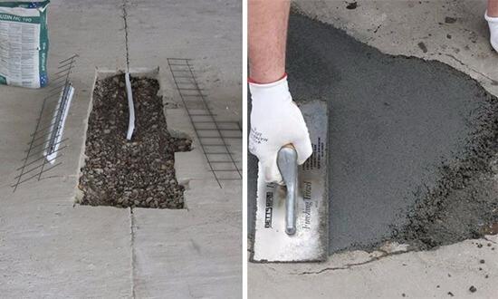 Отремонтировать бетон бетон прокачка