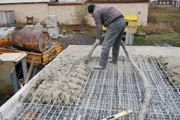 Кровля на бетон тощий бетон купить в химках