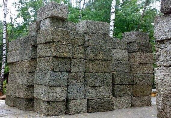 Древесный бетон купить бетон в новосибирске на левом берегу