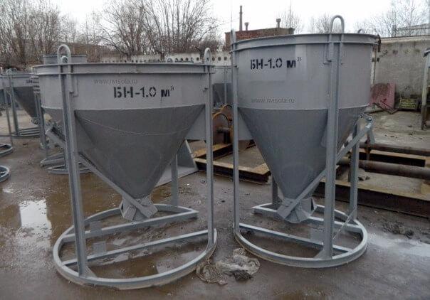Подача бетона бадьями заказать бетон нахабино