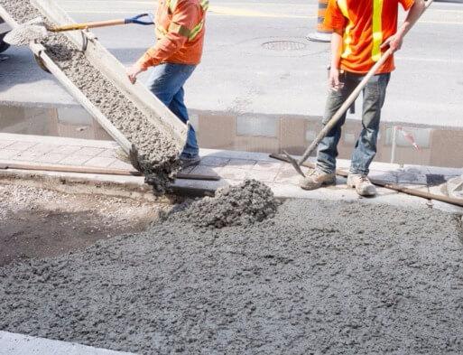 работы включающие установку опалубки приготовление бетонной смеси