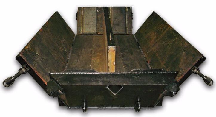 Заливаем мелкие бетонные блоки