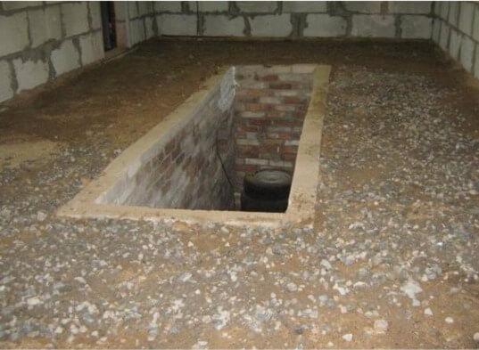 Полы гравий бетон керамзитобетон волоколамск