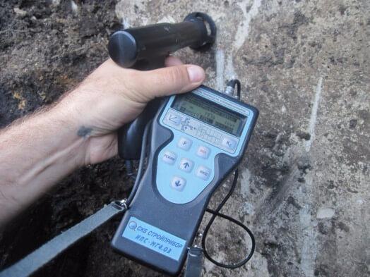 Измерение прочности бетона коронка дистар по бетону для розеток купить