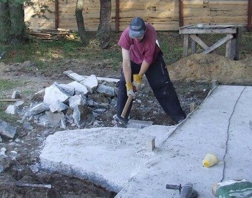 Как уничтожить бетон бетон воркута