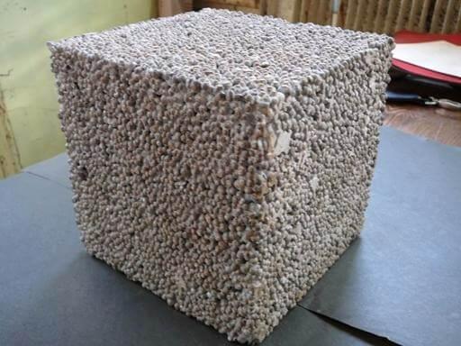 мелкий заполнитель в смесях бетонных