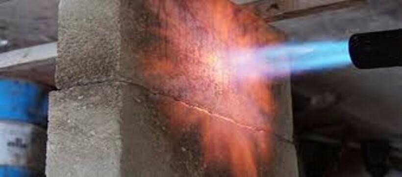 Температурная стойкость бетона расчет теплопроводности стен из керамзитобетона