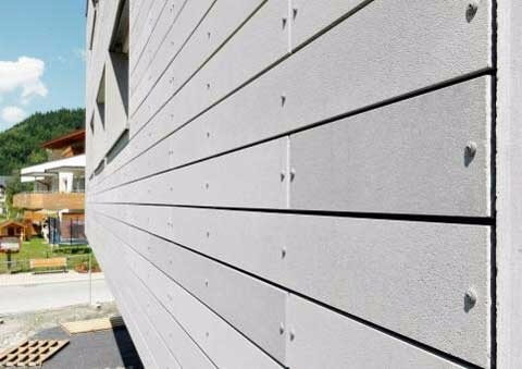 виды фасадных панелей из бетона фибробетона