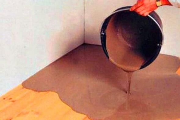 Как положить деревянный пол на бетон