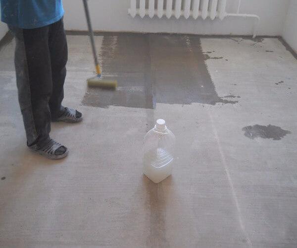 жидкое стекло на бетон