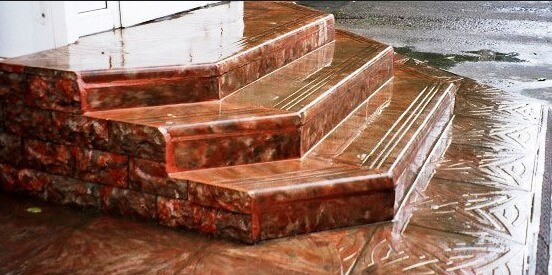 Кевлара бетон однослойная стена керамзитобетон