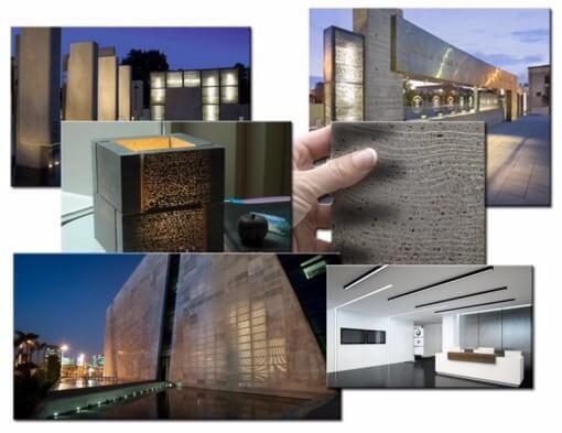 Просвечивающий бетон состав бетонной смеси в 10
