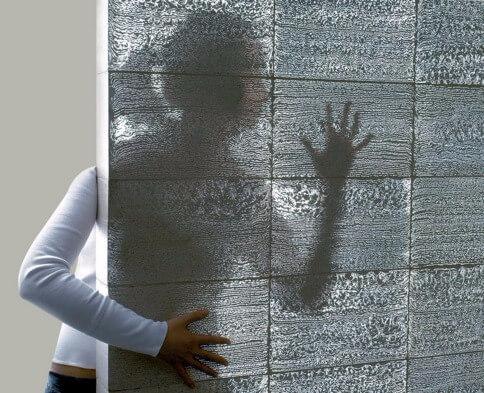 прозрачные бетон
